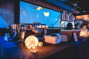 Pit Pub Stage Set